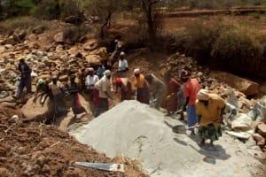 The Water Project: Nyeki Ndune Community -
