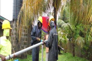 The Water Project: Tintifor, 17 Mariatu Street Well Rehab -