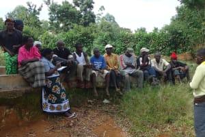 The Water Project: Bukaya Community Well Rehabilitation Project -