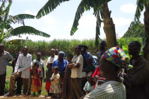 The Water Project: Mwitseshe Community Well Rehabilitation Project -