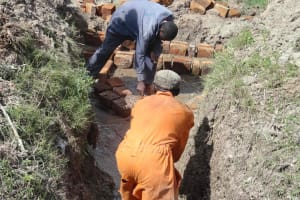The Water Project: Matili Spring Catchment Project -
