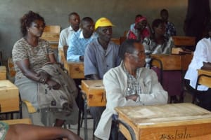 The Water Project: Kamanyinya Secondary School Water Project -