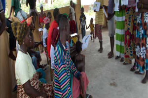 The Water Project: Suzanne Village, War Wounded Camp Well Rehabilitation -