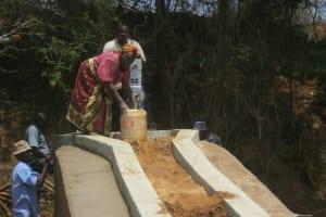 The Water Project: Wuumisyo Wa Kiumoni Self Help Group Shallow Well Project -