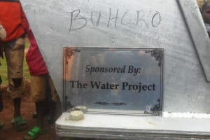 The Water Project: Buhoro -