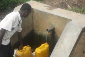 The Water Project: Kamurenzi -