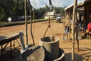 The Water Project: Petifu Junction Well Rehabilitation -