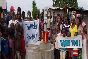 The Water Project: Suctarr Village, 47 Kamara St Well Rehabilitation -