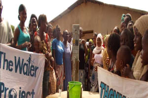 The Water Project: Lumpa Well Rehabilitation Project -