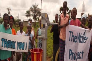The Water Project: Nyandehun Well Rehabilitation Project -