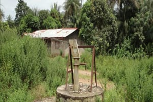 The Water Project: Roloko Road Well Rehabilitation -