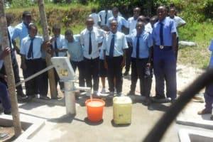 The Water Project: College Adventists de Gitwe II -