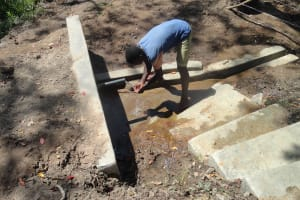 The Water Project: Kasing'e Spring Catchment Project -
