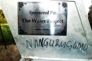 The Water Project: Nangarugoma -