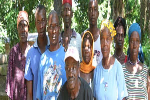 The Water Project: Suctarr Kallie Line Well Rehabilitation -