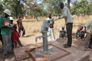 The Water Project: V4 Katougue Village, Burkina Faso -