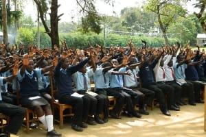 The Water Project: Lunza SecondarySchool -