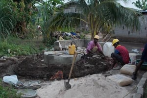The Water Project: Tintafor, Gboro, 3 Ahmed Drive Well Rehabilitation -