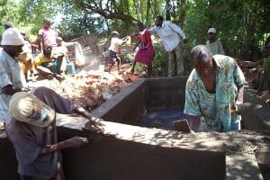 The Water Project: Kutosi Kimakwa Spring Catchment Project -