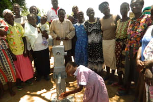 The Water Project: Ebumanyi Community -