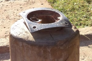 The Water Project: Kabuyefwe Friends Primary School Borehole Rehab -