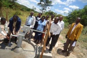 The Water Project: Rwabigyemano Primary School -