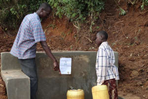 The Water Project: Kolongolo Spring Catchment Project -