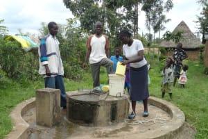 The Water Project: Kimatuni Borehole Rehab -
