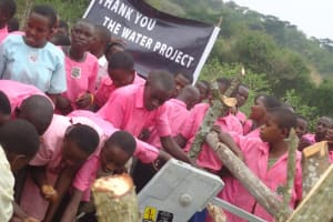 The Water Project: Kitabo Catholic Church Primary School -