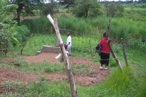 The Water Project: Mateleni Spring Catchment Project -