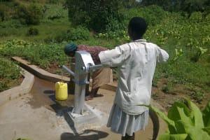 The Water Project: Ang'urai Kolait Borehole Rehabilitation Project -