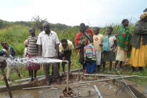 The Water Project: Kimaeti Lurende Borehole Rehabilitation Project -