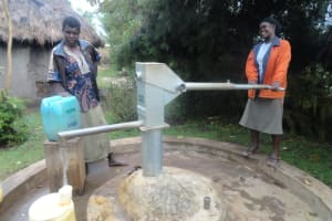 The Water Project: Mtambo Borehole Rehabilitation Project -