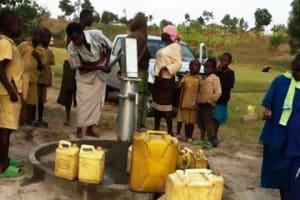 The Water Project: Rusebeya Community -