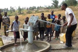 The Water Project: Nyacyonga Community -