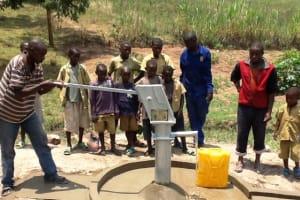 The Water Project: Kagazi I -