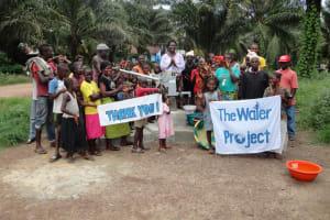 The Water Project: Makeni Binkolo Community Well Rehabilitation -