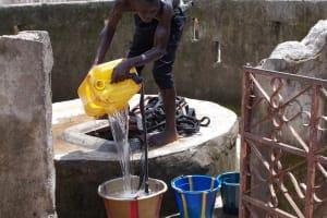 The Water Project: Rutifunk Lungi Community Well Rehabilitation -