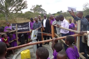 The Water Project: Kyabageny Primary School -