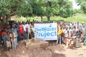 The Water Project: Bonfesso Community -