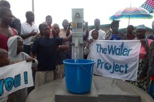 The Water Project: Thullah Street, Thumorso Community Well Rehabilitation -