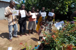 The Water Project: Tintafor, St. Agustine Well Rehabilitation -