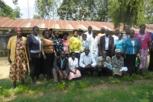 The Water Project: WeWaSaFo Pilot Program - Marko Spring -