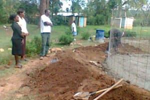The Water Project: WeWaSaFo Pilot Program - Mwiyala Primary School -