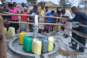 The Water Project: Mooya Community -