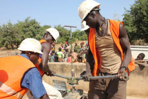 The Water Project: Vouregane Community -