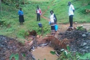 The Water Project: WeWaSaFo Pilot Program - Bikatsi Spring -