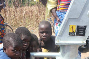 The Water Project: Ouan Community -