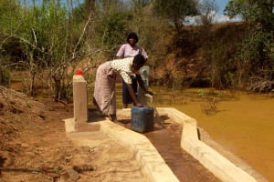 The Water Project: Bodeni Women's Group A -