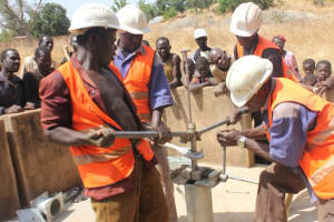 The Water Project: Doumouole -